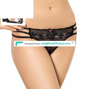 Can ODM sexy women panty indian thong lace