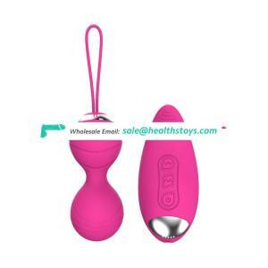 Charging Women Vagina Vibrator  sex toys Wireless Remote Control Jump love egg vibrator