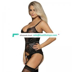 China Import Wholesale Fast DeliveryBlack Lace Ftv Midnight Hot Lingerie Babydoll