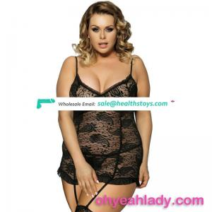 China factory price lingerie for fat women babydoll