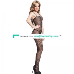 China wholesale paypal accept in stock black women secy bodystocking