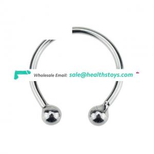 Cock ring Stainless Steel With Bead Ejection Delay For Men