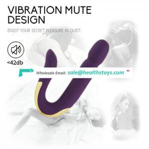 Creative dual motor g-spot vagina clitoris stimulation vibrator for women sex toys waterproof