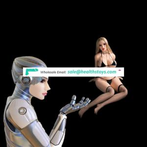 Custom sex robot girls biped humanoid big ass doll with toy adult