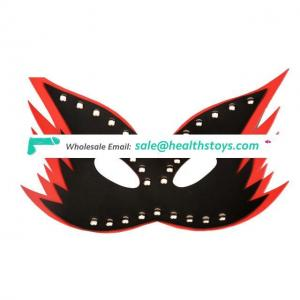 Double Layer Halloween Leather Mask And Christmas Masquerade Ball Party Mask