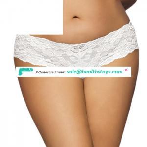 Ecofriendly sexy underwear plus size transparent panty for women