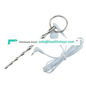 Electric Shock Fetish Catheter Electro Shock Penis Plug Urethral Sound