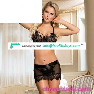 Embroidered Bra set ladies sexy silk bra sets sexy bra panty set