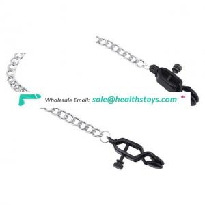 Erotic Toys Metal Nipple Clamp Role-play Breast Clips Adult Products