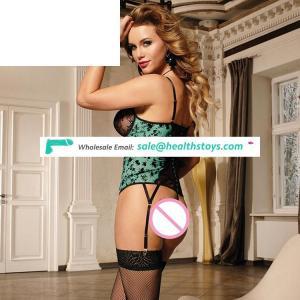 Exquisite Sexy Women  Lace Sexy Transparent Garter Belt Lingerie
