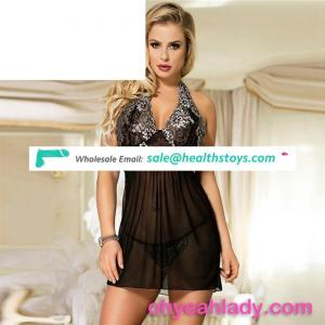 Factory Price Sexy Mature Women Babydoll Lingerie