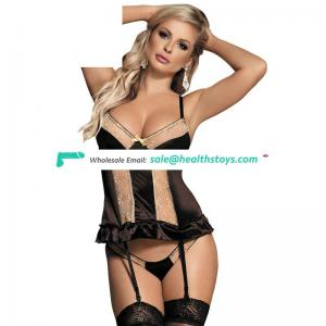 Fast shipping nice design lace lingerie wholesale women lingerie