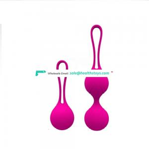 Female Silicone Koro kegel Exercise Ball For Woman medical grade rubber