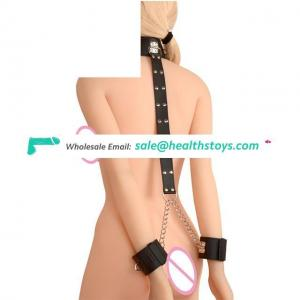 Fetish Bed Restraint Kit With Hand Cuffs Ankle Cuff Bondage Collection For Male Female Couple