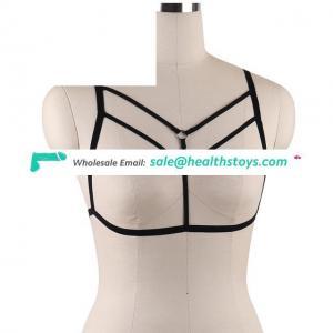 Fetish Harness Wear Cage Bra Women Bondage Lingerie Handmade Body Bra