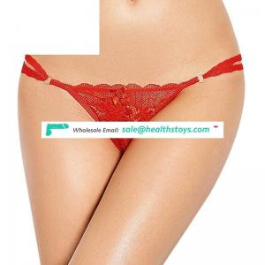 Five Color Four Size Best Selling Lace Hot Sexy Mature Ladies G String