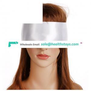 Flirting Toys Double Layer Blindfold Soft Silk Eye Mask