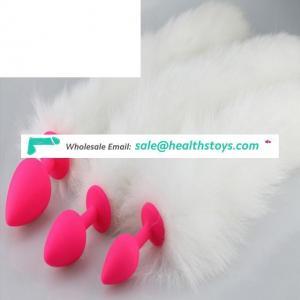 Fox Dog Tail Anal Plug Flirt Toys Metal Butt Plug For Women Lover Games Slave Role Play Backyard