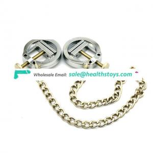 Funny Sliver Clamps Chain, Metal Nipple Clips
