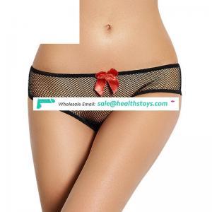 Good Quality Low MOQ Paypal Accept Transparent Lace Panty Underwear
