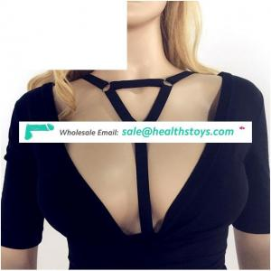 Harness Body accessories Black Belt Elastic Cupless Cage Bra Body Jewelry Chain Necklace Choker