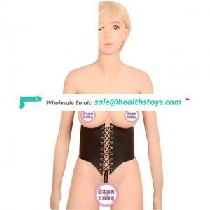 Harness Bondage Garter Erotic Goth Garter Belt Gothic Lingerie Metal Buckles PU Waist Trainer Women Shaper Underwear