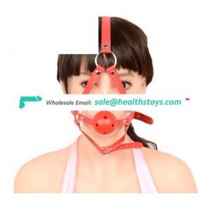 Head Harness Bondage Open Mouth Gag Restraints Fetish Toys For Male Bondage