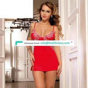 High Quality Fashion Sexy Red Womens Pajama Shorts Set