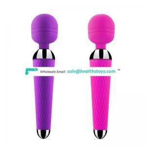 High Quality Super Powerful Vibrators with motor for Women USB G-spot Vibrator Female massager wand