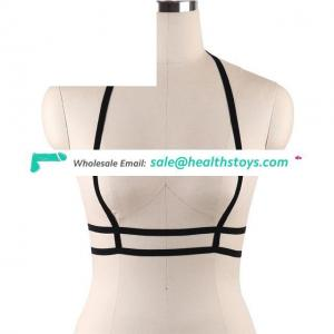Hollow Out Elastic Cage Bra Bustier Top Alluring Women Harness Bra