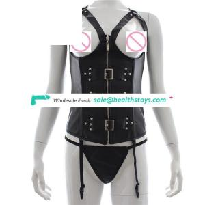 Hot Pu Leather Clothes Product For Women Couples Adult Game Women