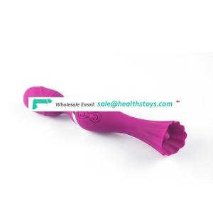 Hot Sell Sex Toys Silicone Dildos for Women With Double Shock