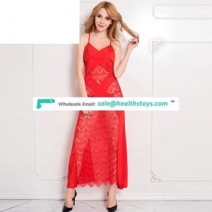 Hot Sexy Red Woman Sex Pajamas Girls Silk Babydolls Satin Nighty