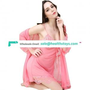 Hot Underwear Costumes Wrapped Chest And T Thong Sleepwear Nightgown Erotic lingerie Clothes