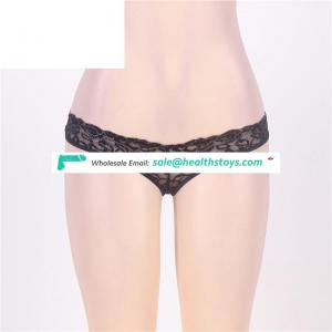 Hot attractive one piece open crotch panties underwear for women