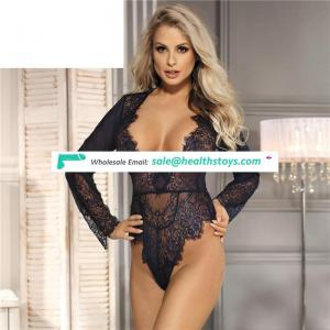 Hot girls three color ladies adult teddy suit sexy lingerie