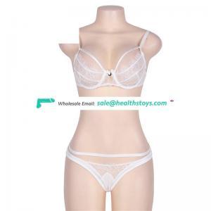 Hot ladies sexy net bra sets sexy bra panty set