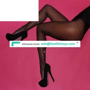 Hot sale diamonds fishnet sexy japan pantyhose