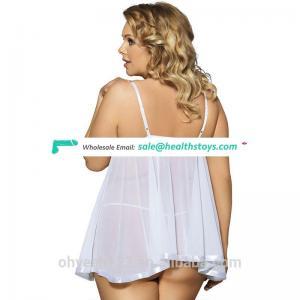 Hot sale lingerie plus size 5xl lingerie babydoll lingerie plus size