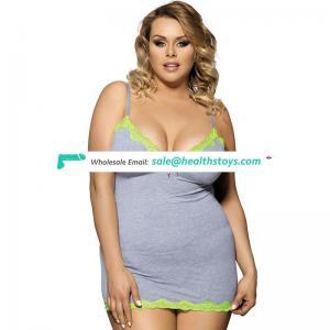 Hot sale nighty mature women babydoll pajamas