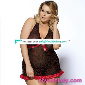 Hot sale nude japanese sexy plus size lingerie