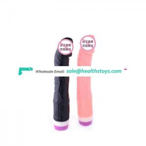 Hot sale sex products vibrating dildo for women and men
