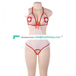 Hot sale sexy nurse teddy adult costume