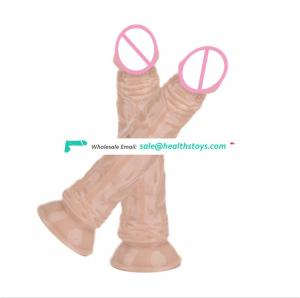 Hot sell Silicone  Strong Suction Cup soft AV rod vibration Dildo Adult Sex Toys for Women Vagina vibrator