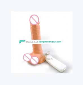 Hot sell Silicone Artificial Penis Mushroom Head powerful av Vibrator big Dildo toys sex adult for Women