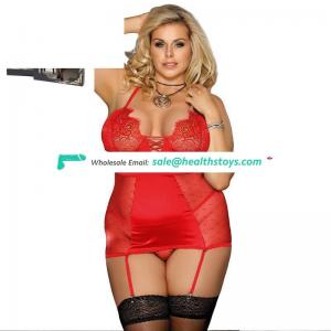 Import china plus size womens lingerie set