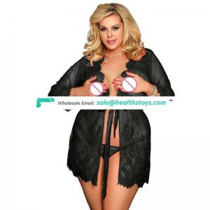 In stock mature women Paypal Accept  lace Sexy Babydoll sleepwear