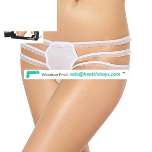 In stock sexy young girls transparent panties g-string
