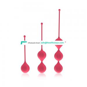 Kegel exercises Vaginal vibrating kegel ball for women
