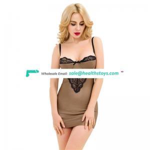 Large stock wholesale mature women sexy leather babydoll